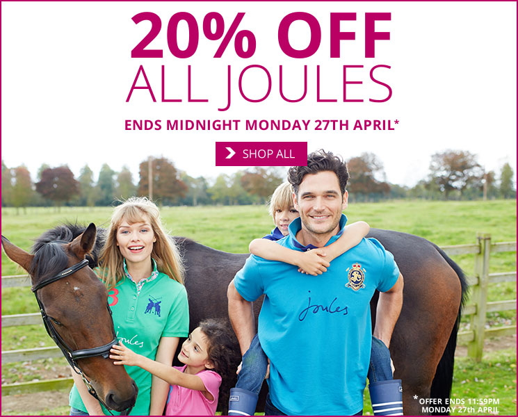 Save 20% on Joules
