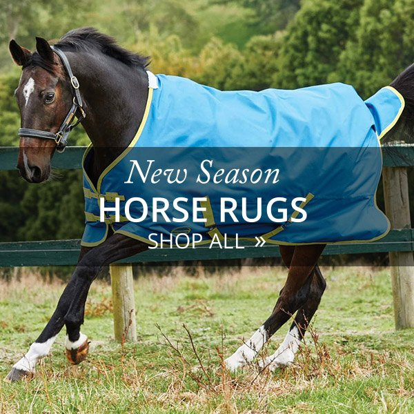 New Season Horse Rugs Now Arriving