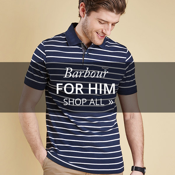 Shop Barbour Clothing & Accessories For Him