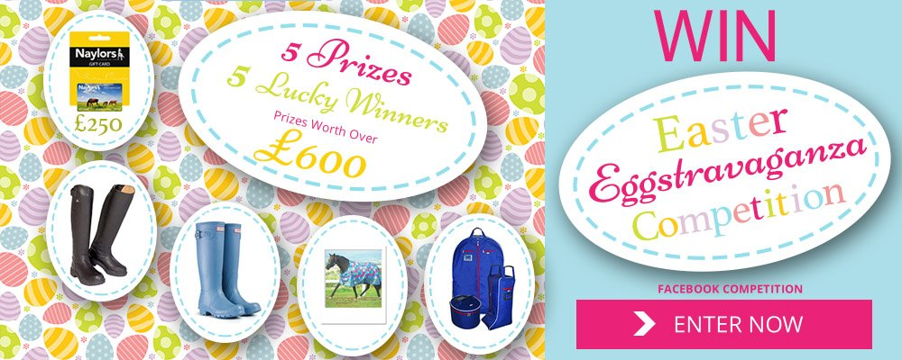 Enter our Easter Eggstravaganza Competition for a chance to win one of five prizes, total value of prizes over £600