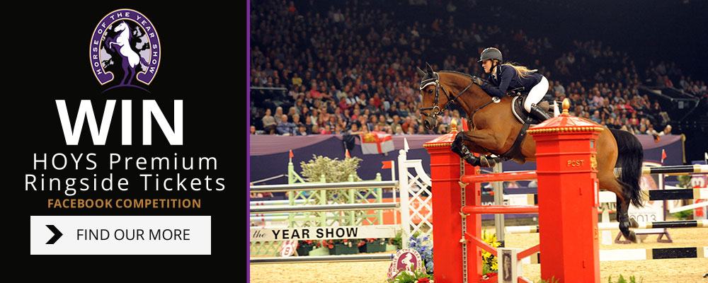 Win tickets for HOYS in Naylors latest competition