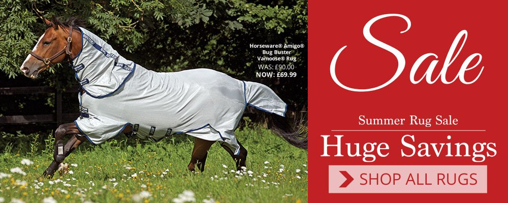 Summer Horse Rug Sale - Huge Savings