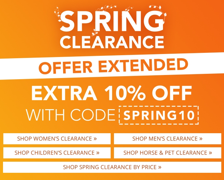 Naylors Spring Clearance Event
