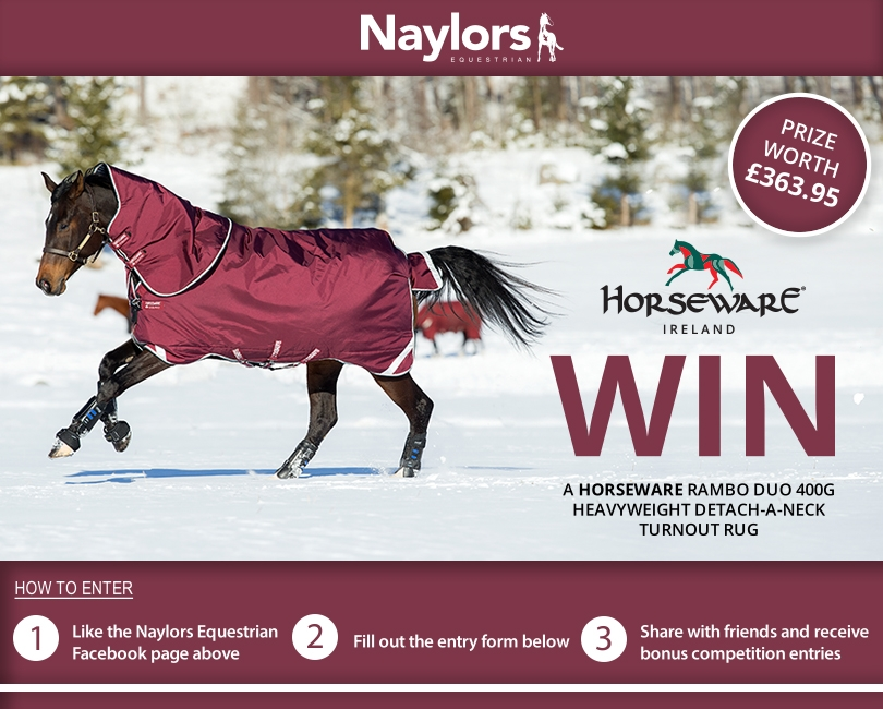 Win A Horseware Rambo Turnout Rug