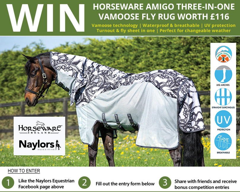 Win A Horseware Amigo Three-In-One Vamoose Fly Rug