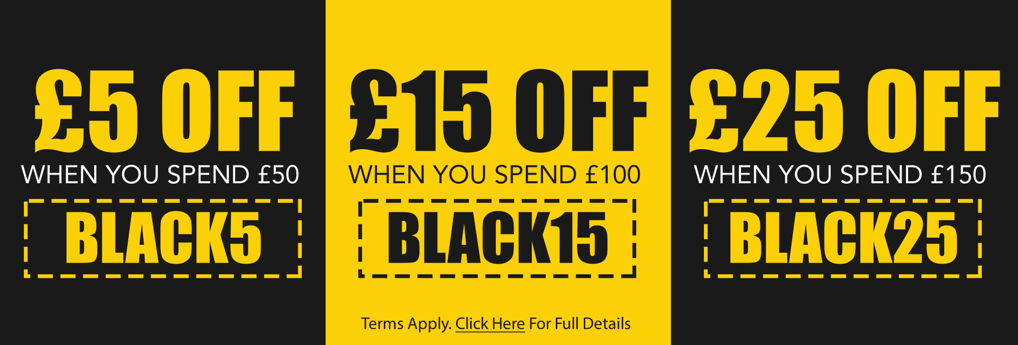 Black Friday Discount Codes - Save Up To £25 >>