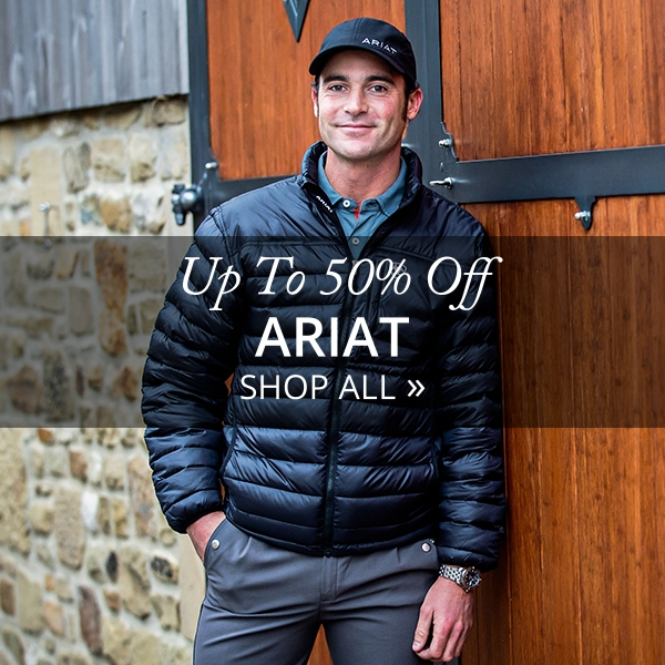 Ariat Up To 50% Off - Shop Now