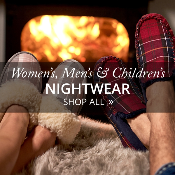 Christmas - His, Hers and Kids Nightwear - Shop Now