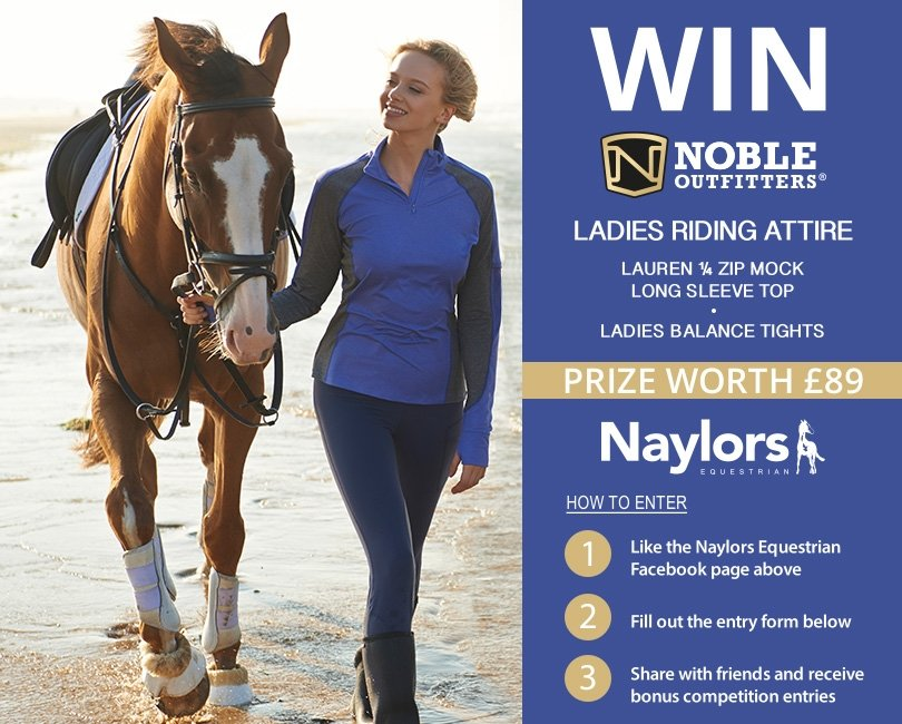 Win Ladies Riding Attire From Noble Outfitters