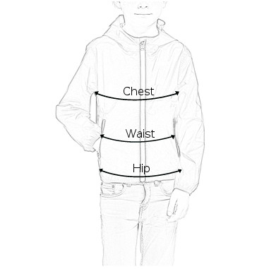 Aigle Children Boys Top Size Guide Diagram