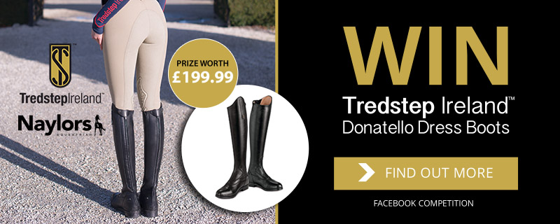 Win a pair of Tredstep Ireland Donatello Dress Boots in our Facebook competition