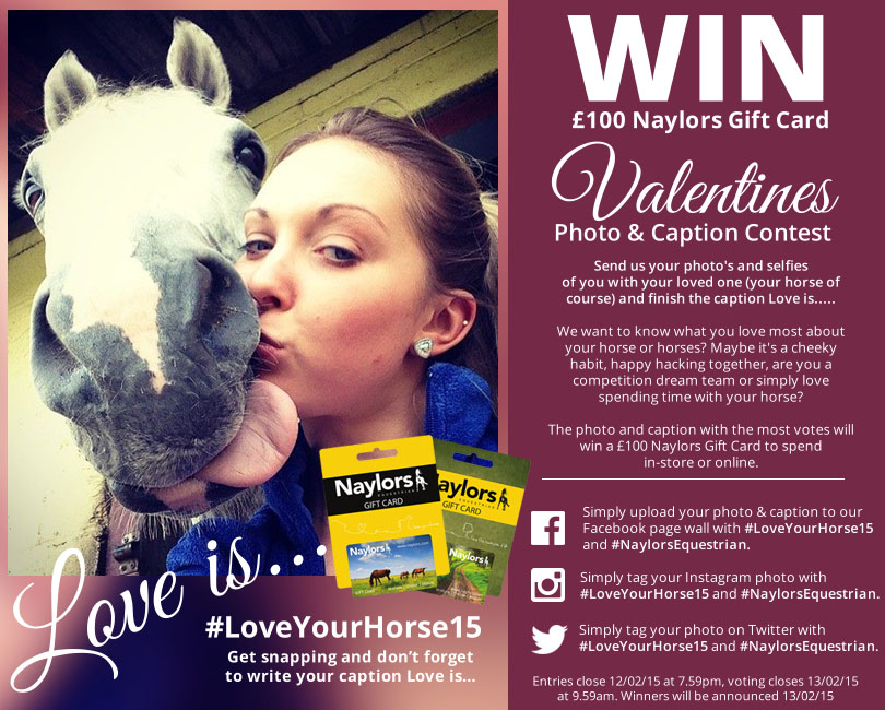 Win a £100 Naylors Gift Card in our Valentines Photo & Caption Contest