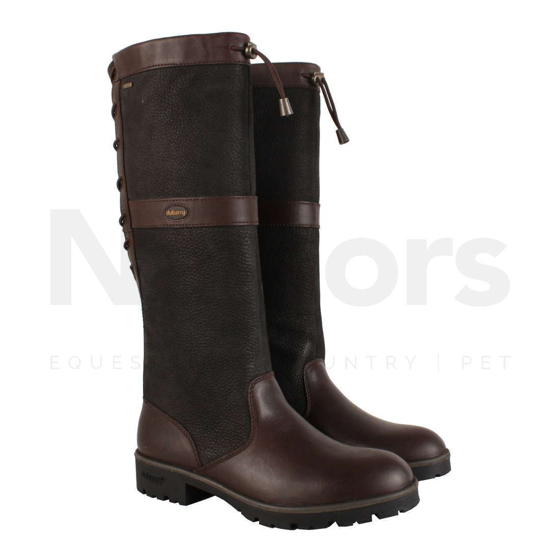 f8f254fa02a Dubarry Ladies Glanmire Country Boots Black/Brown